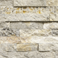 ErthCOVERINGS Mountain Grey Ledgestone Series Natural Stone Veneer Swatch