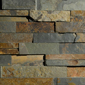 ErthCOVERINGS Outback Brown 3D Series Natural Stone Veneer Swatch